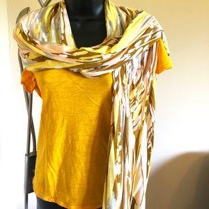 Banana republic multi colored scarf
